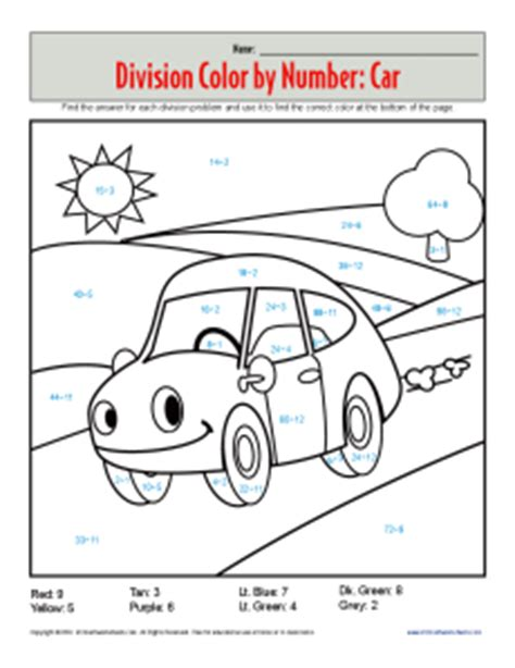color by numbers coloring book for cars mens color by numbers cars coloring book color by numbers books for volume 1 books coloring pages division color by number car division