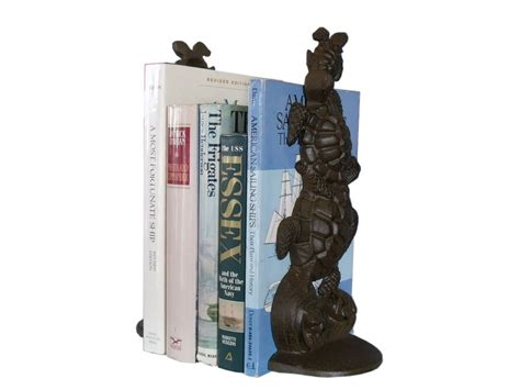 beach home decor wholesale buy set of 2 rustic cast iron turtle book ends 11 inch