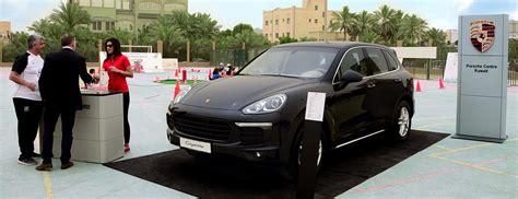 Porsche Kuwait by Porsche Centre Kuwait Sponsors Premier Sport Academy