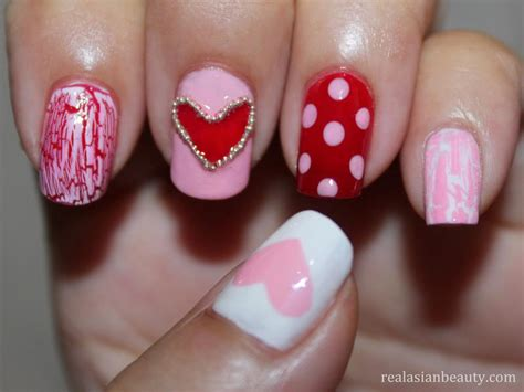 valentines day nail s day nails