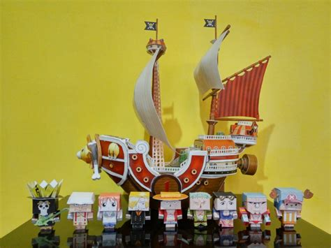 Thousand Papercraft - mfnst papercraft thousand shp crew 1 by mfnst on