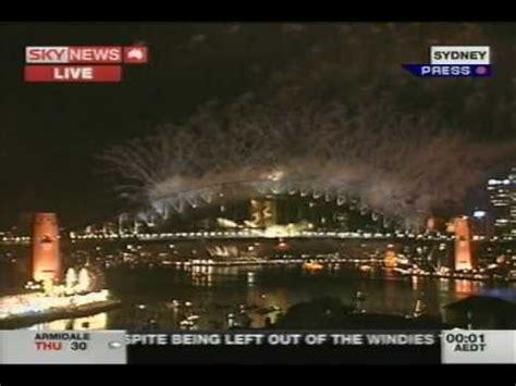 new year countdown melbourne sky news australia new years countdown to 2009