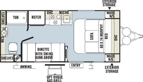 20 foot travel trailer floor plans thousands of ideas about travel trailer rentals on