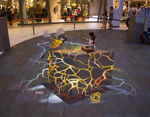 3d Paintings by 3d Painting For Dummies Or How To Do 3d Anamorphic