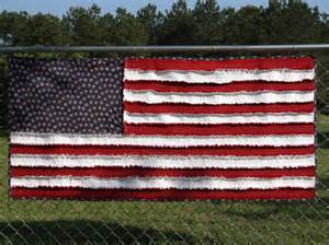 american flag rag quilt by hatchspatchs on etsy