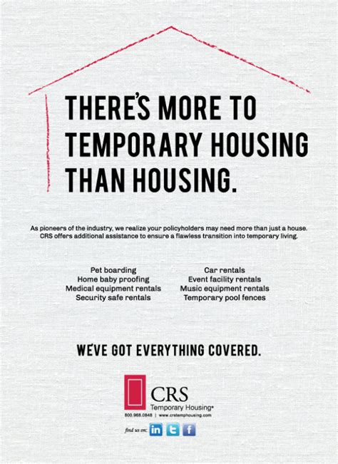 temporary house insurance crs temporary housing 28 images custom printed