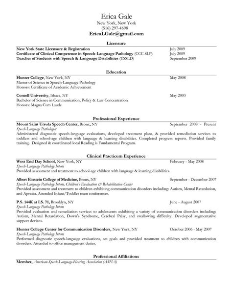 sle resume for costco speech therapy report sle 28 images speech therapy