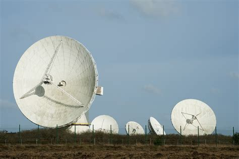 stock photo  goonhilly earth station photoeverywhere
