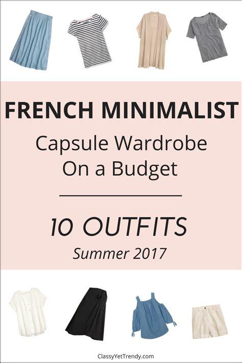 New Wardrobe On A Budget by Create A Minimalist Capsule Wardrobe 10 Summer