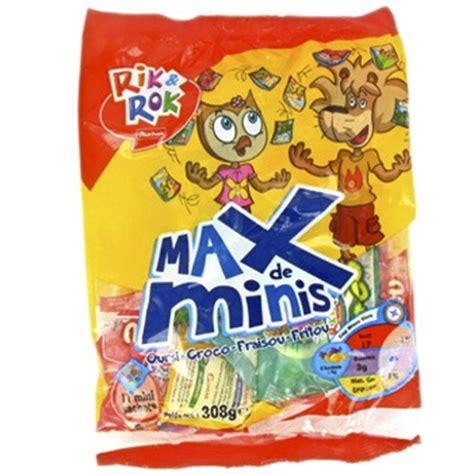 Rok Max rik rok max de minis 308g tous les produits bonbons