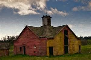 Barn Cupola Plans Old Country Barn Mixed Media By John K Woodruff