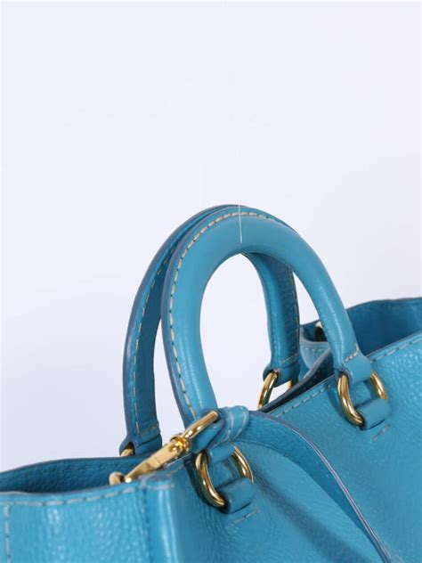 Shopping Bag Handle prada handle shopping bag blue luxury bags
