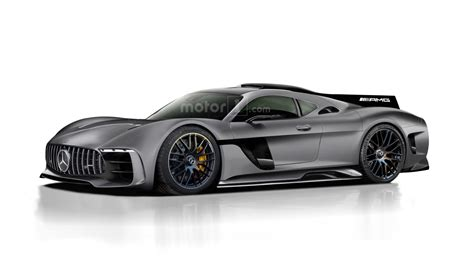 mercedes amg project one rendered as jaw dropping halo