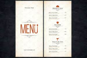 illustrator menu template restaurant menu template 44 free psd ai vector eps
