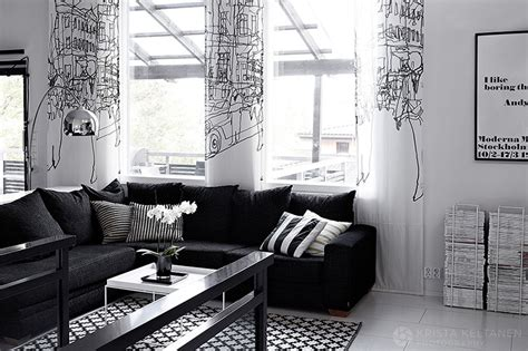 black and white home interior black and white interior design with comfortable