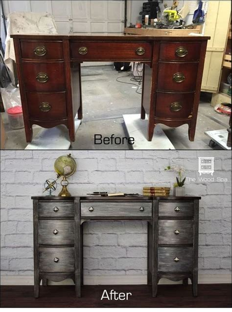 Best 25  Metal desk makeover ideas on Pinterest   Desk