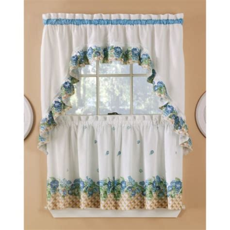 sears kitchen ruffled curtains sets kitchen curtains