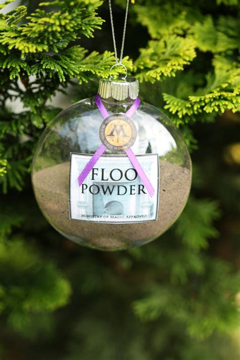 printable harry potter ornaments items similar to harry potter christmas ornament floo