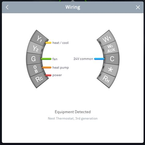 nest thermostat wiring diagram wire with an orange