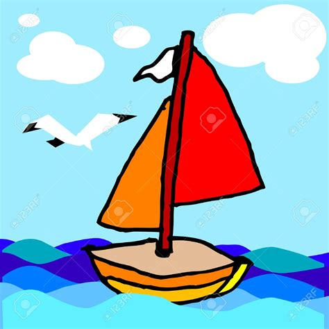 boat drawing for children s boat pictures for children 18062