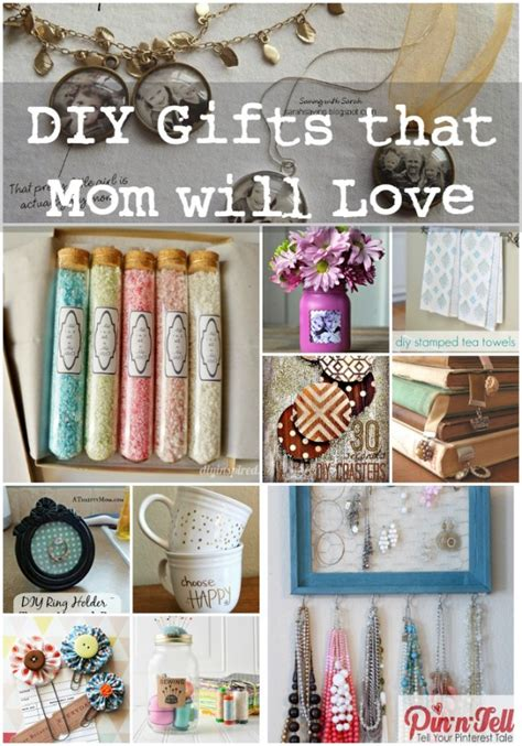 gifts for mom diy mother s day gifts that mom will love pin n tell