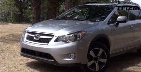 Subaru Xv Road Review 2014 Subaru Crosstrek Xv Hybrid Muddy Road Review