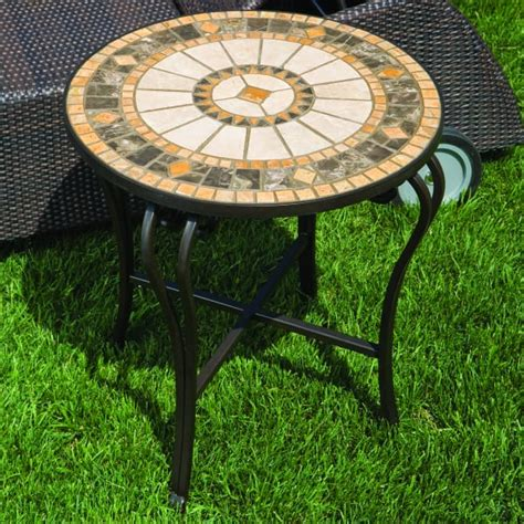 Mosaic Patio Side Table by The Compass 20 Quot Side Table By Alfresco Home Family