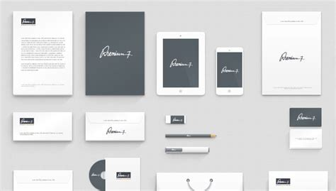 15 free high resolution corporate identity mockup templates
