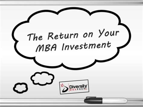 Schools With The Lowest Return On Mba by Calculate The Return On Your Mba Investment