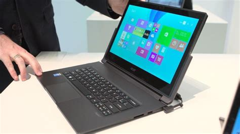 Laptop Acer R13 acer aspire r13 laptop turns into a tablet or is it the other way cnet