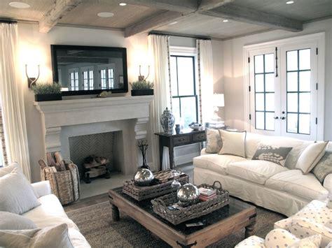 flatscreen tv  fireplace transitional living room jane green