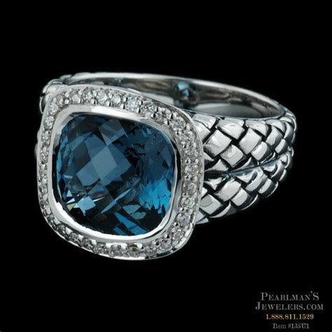 sterling jewelry sterling silver blue