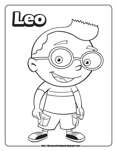 Little Einsteins Printables Coloring Home Einsteins Coloring Pages