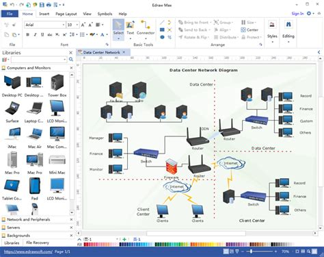 home network design software ideal software for building network diagram easily within minutes visio like