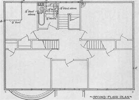 plumbing plan for a house house plans