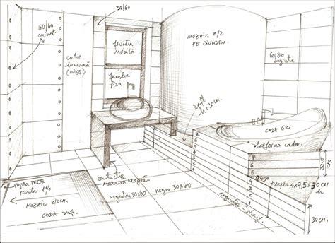 sketch of a bathroom bathroom sketches interior design