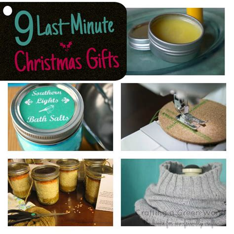 9 last minute gifts to make this weekend