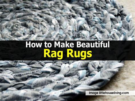 how to make beautiful rag rugs
