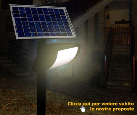 illuminazione giardino solare il portale sole pannelli solari e fotovoltaici