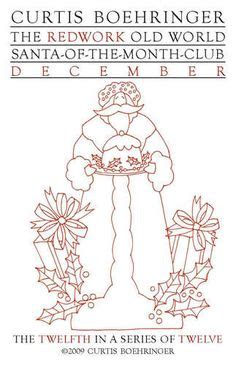 coloring book of the month club 1000 images about redwork santas on