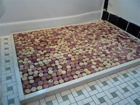 Wine Cork Doormat dustin white wine cork bath mat