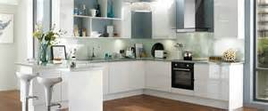 Howdens Bathroom Furniture Gloss White Integrated Handle Kitchen Range Kitchen Families Howdens Joinery Dapur