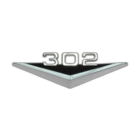 Find Cheap Mustang Emblem At Up To 70 Compare99 Price Comparison 1965 1966 Mustang Fender Emblem Engine Designation 302