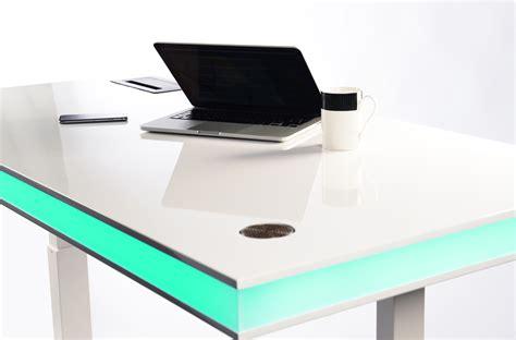 Unique Desk Ideas tableair smart desk changes height via sensing module