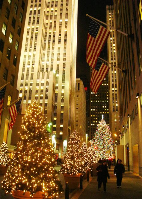 weihnachtsmarkt new york rockefeller christmas in new york city part 2 extraordinary trees and other finds ritournelle