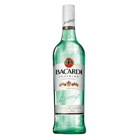 bacardi rum silver light superior light