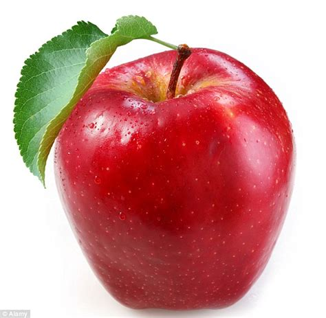 those who eat apples are less likely to use prescription