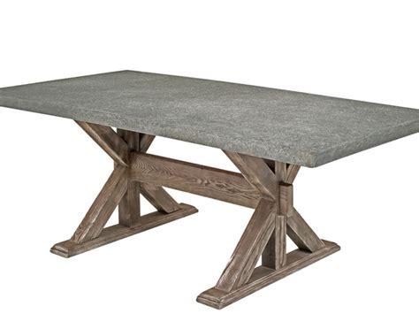 Concrete Top Dining Tables Concrete Kitchen Table Home Design Ideas