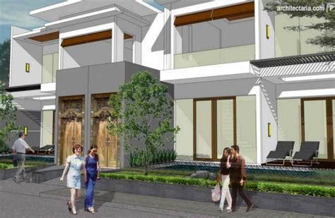 desain rumah resort modern desain arsitektur villa resort modern tropis di seminyak
