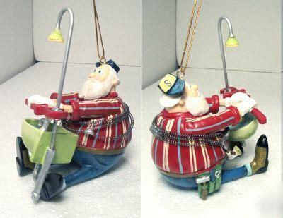 Santa Plumbing by Santa Plumber W Wrench Plumbing Sink Repair Ornament